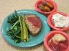 North Fork Farm Ground Beef served as meat loaf in ASU\'s Central Dining Hall in April 2011